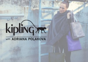 KIPLING WITH ADRIANA POLAKOVA