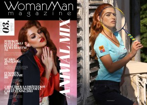 WOMANMAN MAGAZINE cover&editorial;