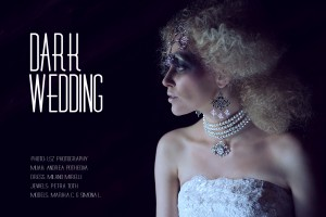 DARK WEDDING editorial