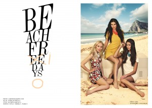 BEACH FREEDAYS for M MAGAZINE