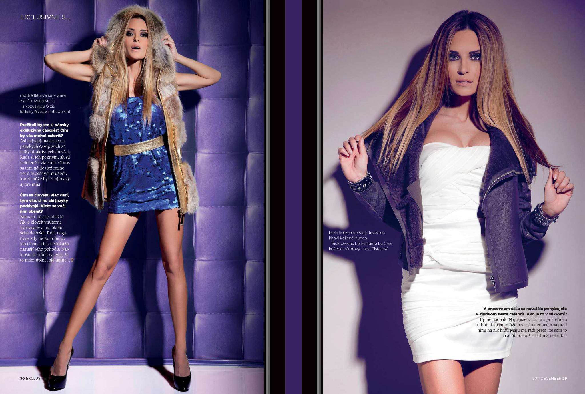Fashion / erika judyniova 4 exclusive magazine